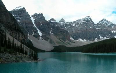 Morraine Lake and Valley of the Ten Peaks, Canada, 2008