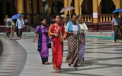 Myanmar, Yangon, Swedagon Pagode