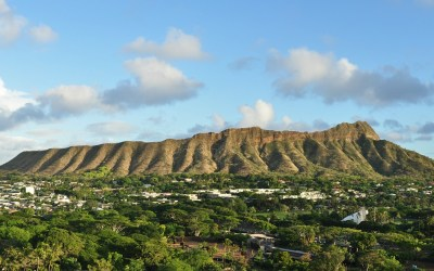 Diamond Head, Oahu, Hawaii, 2011