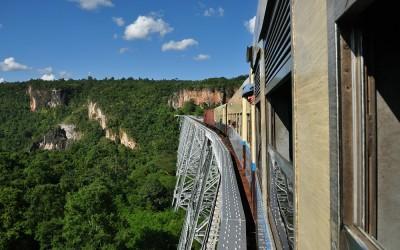 Myanmar, Gokteik Viaduct