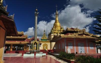 Myanmar, Pyin Oo Lwin, tempel