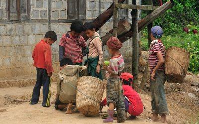 Myanmar, in de heuvels van Kalaw