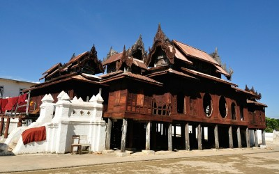 Myanmar, Shwe Yaunghwe Kyaung Klooster