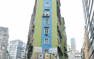 Hong Kong, straat in Kowloon
