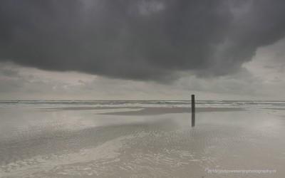 Strand bij Camperduin, 7-12-2013