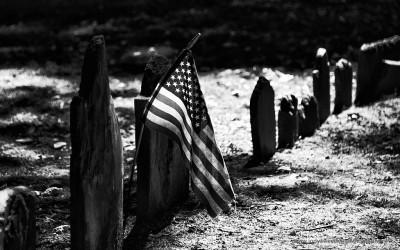 Kings Chapel Burying Ground, Boston MA, USA, 27-9-2015