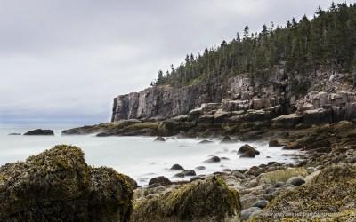 Otter Cliffs and Boulder Beach, Acadia NP, USA, 1-10-2015