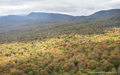 Uitzicht vanaf Mt Pemigewasset, Franconia State Park NH, USA, 6-10-2015