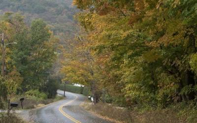 Doorkijkje in Dorset VT, USA, 9-10-2015