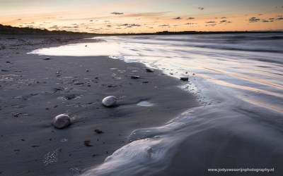 Strand bij Middletown RI, USA, 11-10-2015