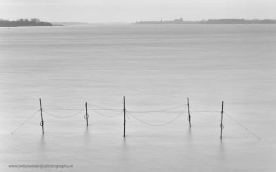 Zonsopkomst aan het Veerse meer, Vrouwenpolder, 28-2-2016