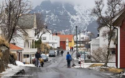 Henningsvaer, Noorwegen, 12-3-2016