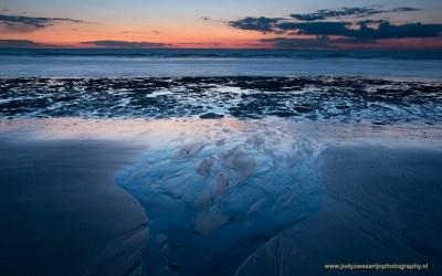 Zonsondergang bij Cap Blanc Nez, Opaalkust, 30-4-2016