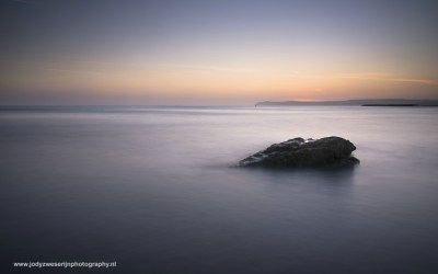 Zonsopkomst bij Cap Gris Nez Opaalkust, Frankrijk, 4-5-2016