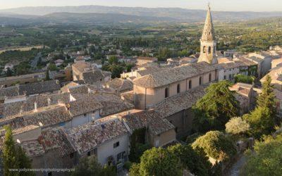 Zonsopkomst bij Saint Saturnin les Apt, Provence, Frankrijk, 9-7-2016