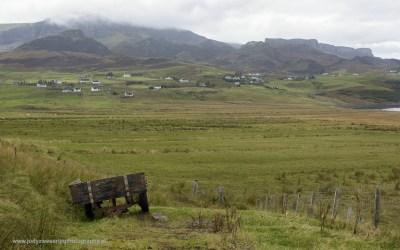 Onderweg aan de A855, Isle of Skye, Schotland, 15-10-2016