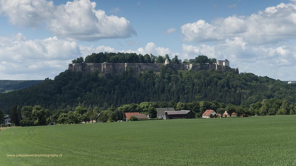 Festung Königstein, Sächsische Schweiz, Duitsland, 7-6-2017