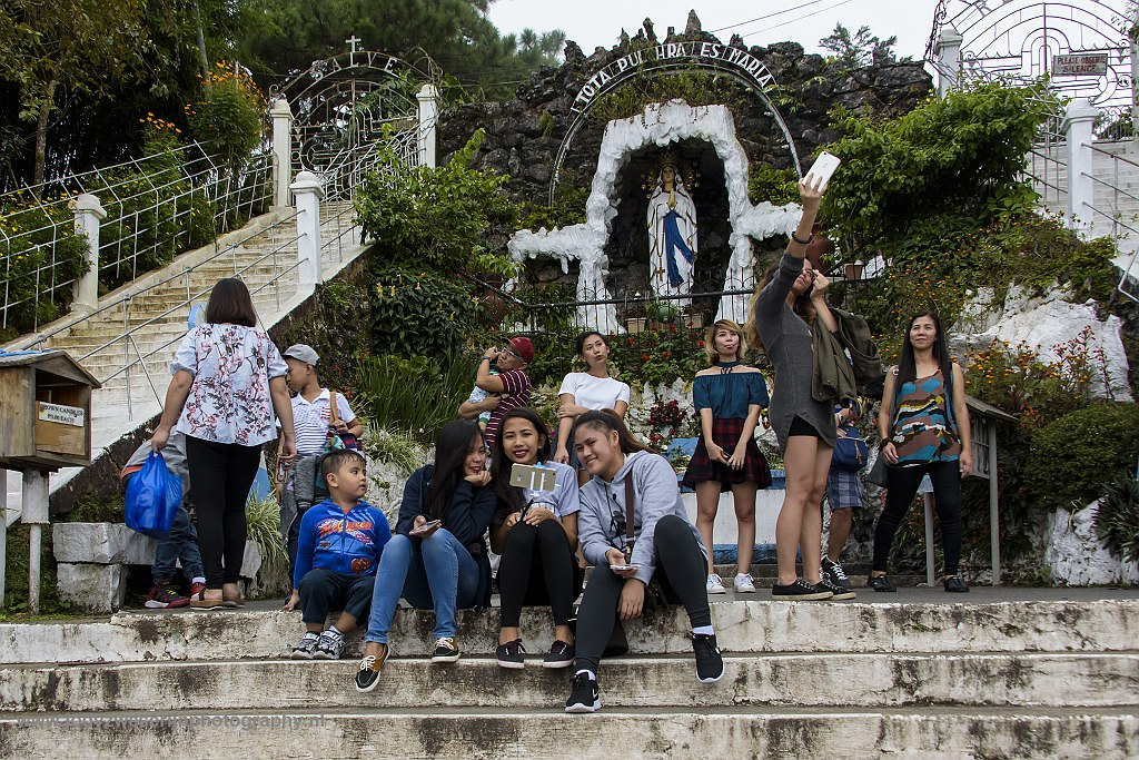 Our Lady of Lourdes Grotto, Baguio, Luzon, 18-11-2017