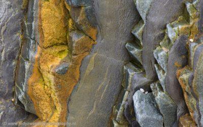 Bijzondere vormen op Playa Silencio, Asturië, Spanje, 16-5-2018
