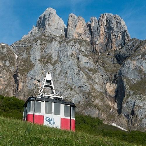 Kabelbaan Fuente Dé, Picos Europa, Spanje, 24-5-2018