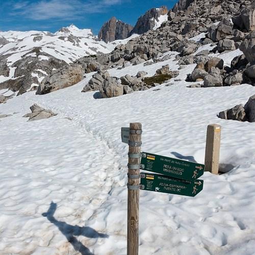 Hoyos de Lloroza, Picos de Europa, Spanje, 24-5-2018