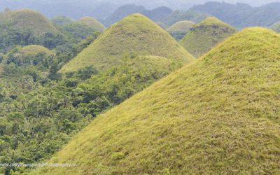 Chocolate Hills, Bohol, Filipijnen, 7-11-2018