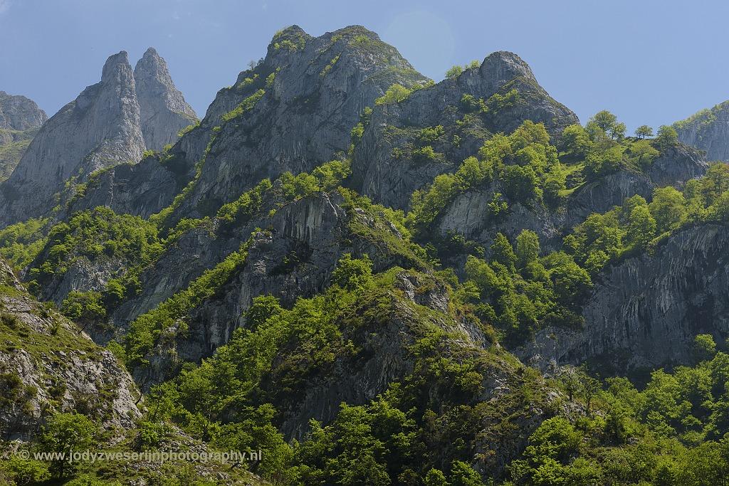 Langs de N-625, Picos de Europa, Spanje, 23-5-2018