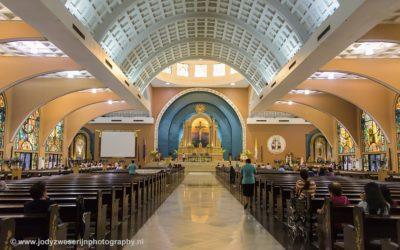 Shrine of St. Therese of the Child Jesus, Manila, Luzon, Filipijnen, 12-11-2107