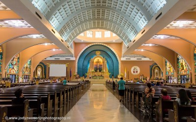 Shrine of St. Therese of the Child Jesus, Manila, Luzon, Filipijnen, 12-11-2107