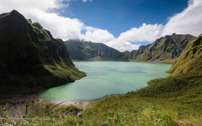 Kratermeer van vulkaan Pinatubo, Luzon, Filipijnen, 13-11-2017