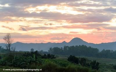 Zonsondergang, Luzon, Filipijnen, 13-11-2017