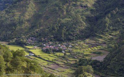Onderweg tussen Sagada en Baguio, Luzon, Filipijnen, 18-11-2017