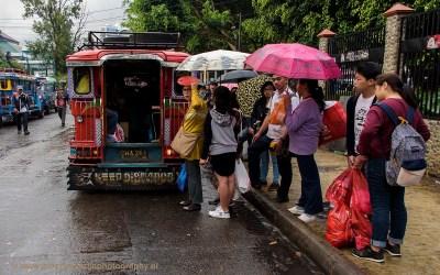 Centraal busstation, Baguio, Luzon, Filipijnen, 18-11-2017
