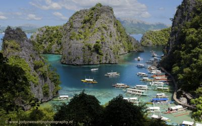 Baai bij Kayanga Lake, Coron, Filipijnen, 29-11-2017