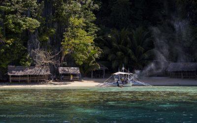 Strandje om te lunchen, Coron, Filipijnen, 29-11-2017