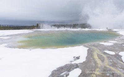 Grand Prismatic Spring, Yellowstone, USA, 27-1-2019