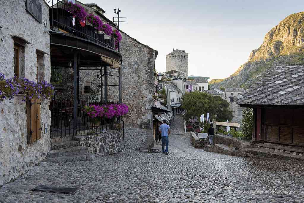 Historische centrum, Mostar, Bosnië en Herzegovina, 16-9-2019