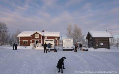 Pension bij Loma Paksu, Finland, 25-1-2020