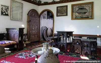 Traditioneel Moslim huis, Mostar, Bosnië, september 20219