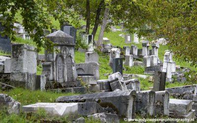 Oude joodse begraafplaats van Sarajevo, Bosnië, september 2019