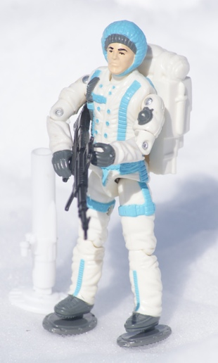 GI Joe Weapon Sub Zero Snow Shoe 1990 Original Figure Accessory