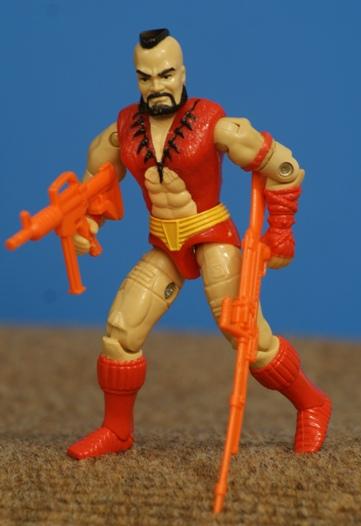 GI Joe Weapon Street Fighter II Zangief 1993 Original Figure Accessory