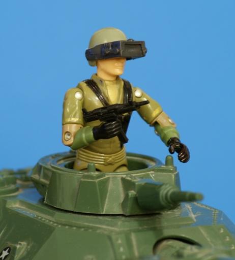 driver binoculars Joe Steeler M.O.B.A.T visor Vintage 1982 Hasbro G.I