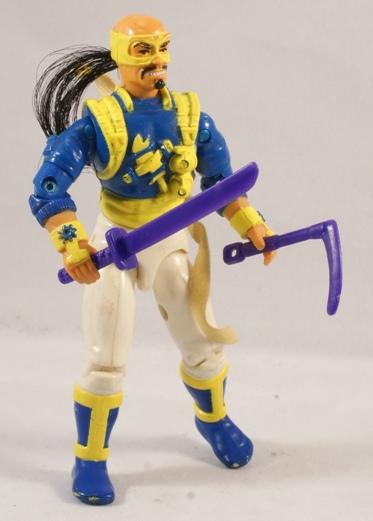G I JOE Accessory  1992  Ninja Force T/'Jbang          Battle Axe Sword