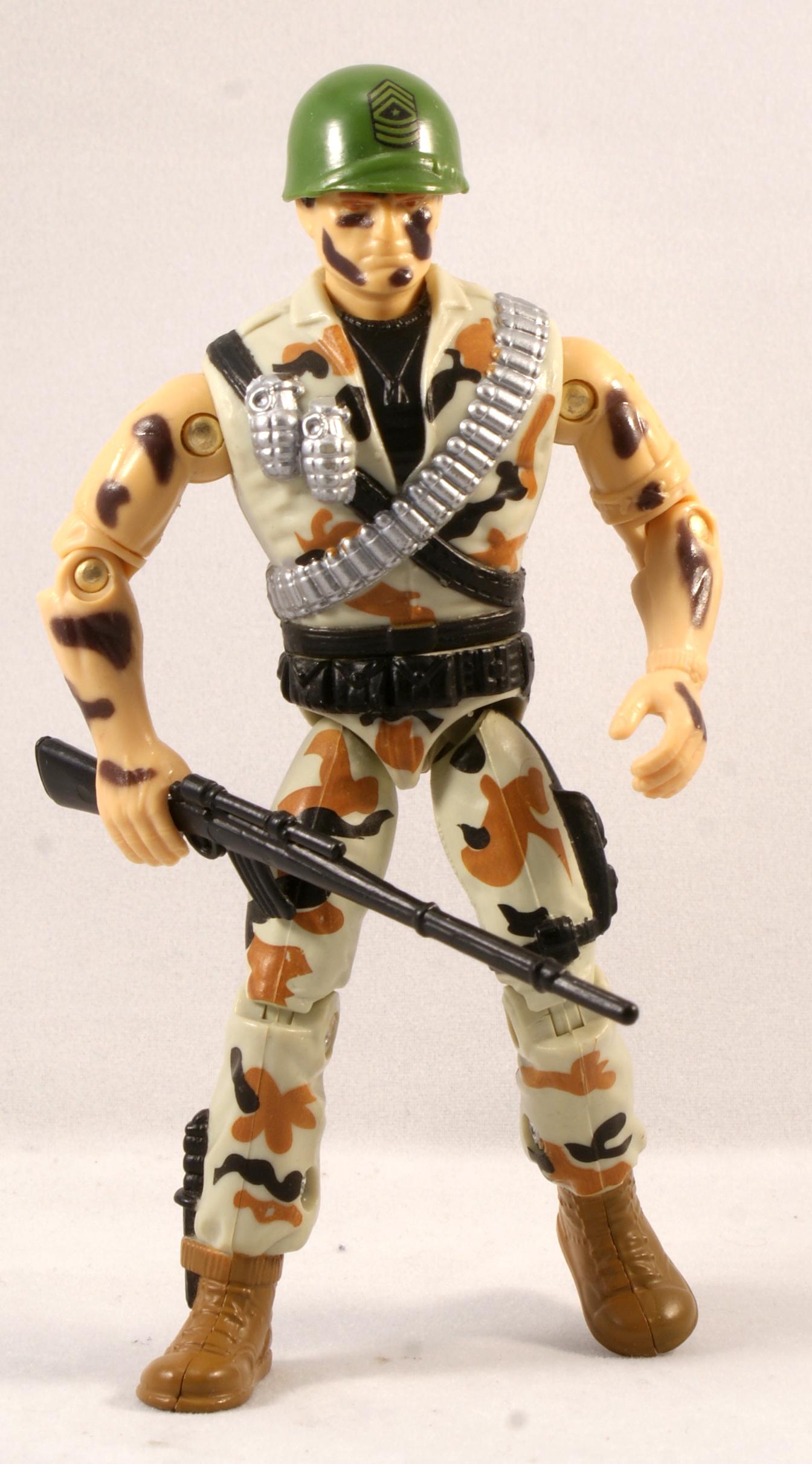 Joe Desert Camo SGT Savage G.I