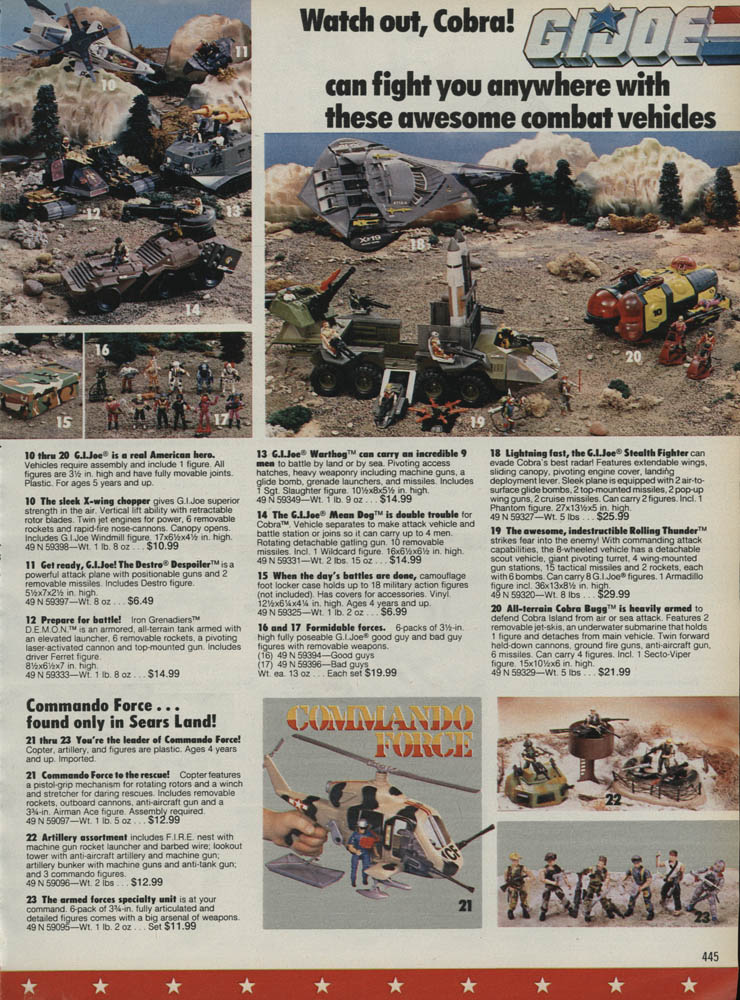 1988 Sears Wishbook Joes