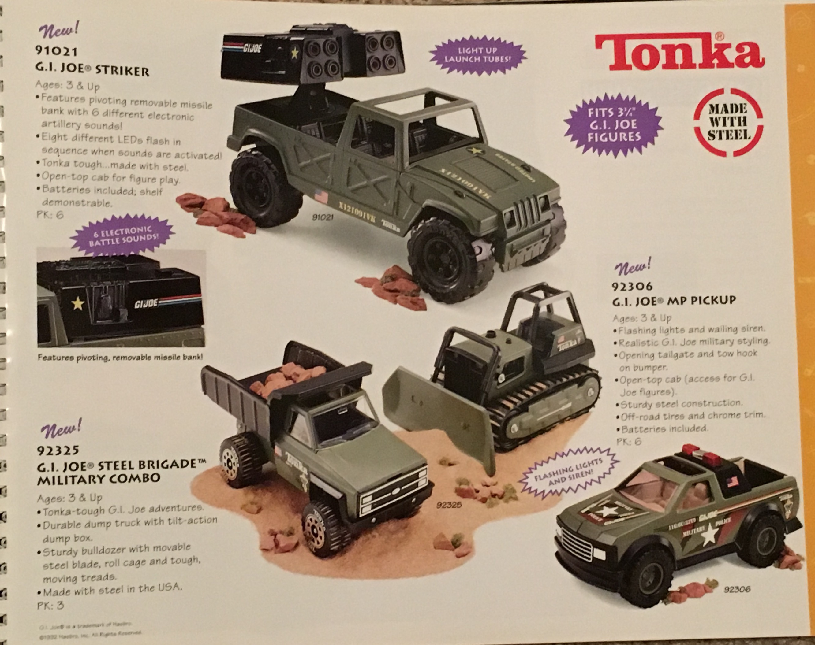 Toy Fair Flashback: Tonka GI Joe Vehicles