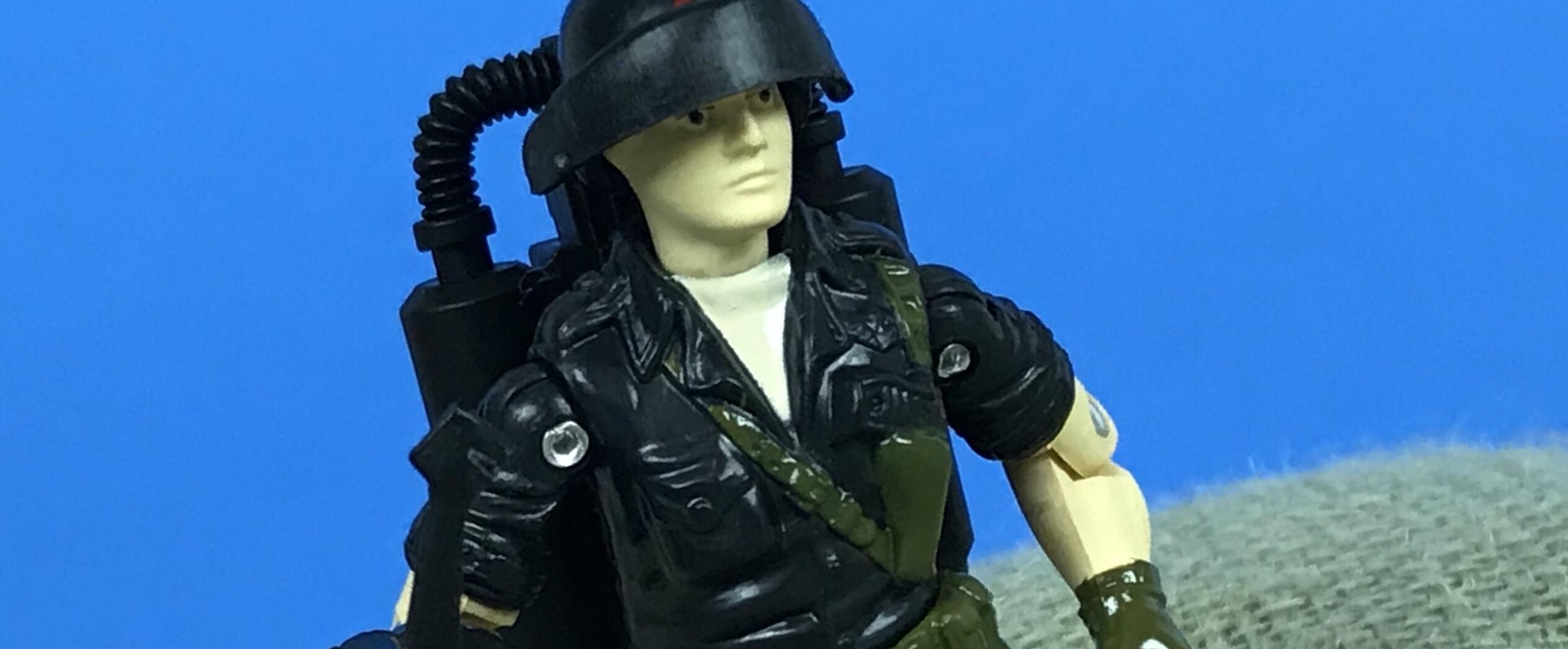 Gi Joe Black Major custom Night Force Starduster