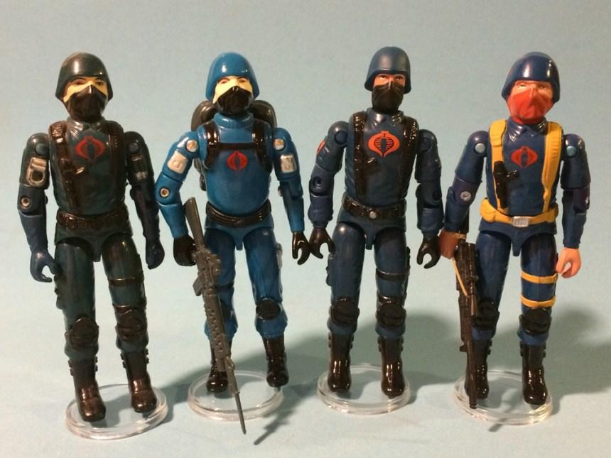 GI Joe Action Figure ROTORHEAD by RED LASER Cobra Trooper