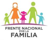 logo frente nacional por la familia